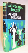 Jennie Melville MURDERERS' HOUSES First Edition Scarce UK hardcover mystery
