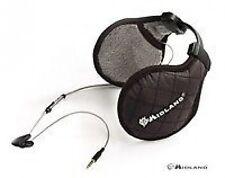 MIDLAND SUBZERO EAR MUFF HEADPHONES BLACK   mp3 ipod music 3.5mm jack stereo