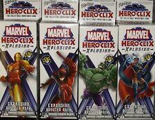Marvel Heroclix Xplosion Booster Packs X12, sealed