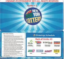New York Lotto holder Play 3/4/Pick10/Take 5/lotto/PowerBall,Mega/Sweet Million,
