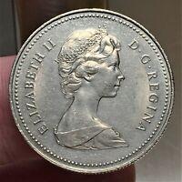 1982 Canada 50 Cents, Queen Elizabeth II, KM# 75.3, UNC.