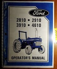 Heavy equipment manuals books ebay ford 2810 2910 3910 4610 4610su tractor 1984 85 owner operator manual se4346a s fandeluxe Choice Image