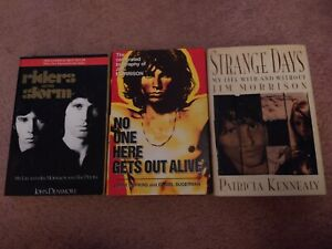 Jim Morrison Biography Book Lot No One Here Gets Out Alive, Strange Days,