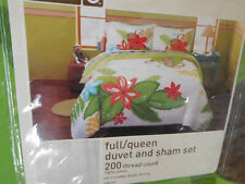 NIPTarget Home Duvet Cover & Shams Bedding 3PC Set ~TROPICAL  JUNGLE~ FULL/QUEEN