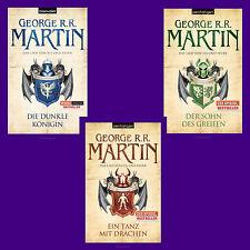 George R. R. Martin - Das Lied von Eis und Feuer 8 + 9 + 10 - Game of thrones
