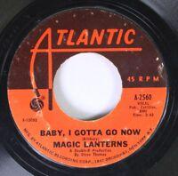 Rock 45 Magic Lanterns Baby, I Gottavgo Now / Shame, Shame On Atlantic