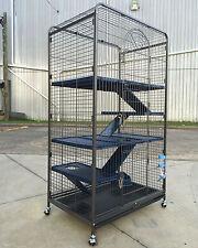 5 Level Ferret Cat Cage Metal Rabbit Guinea Pig Cage Hutch Feeder 139x79x52cm