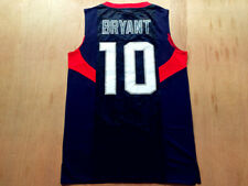 Retro 2008 Beijing Bryant #10 Basketball Jerseys Stitched USA  Shirts