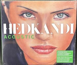 HED KANDI - ACOUSTIC, VARIOUS ARTISTS, DOUBLE CD ALBUM, (2017) *NEW / SEALED*