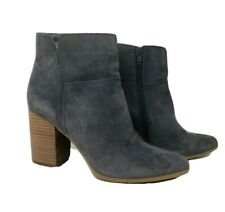 Nine West Boots 8 M gray suede ankle boots style name Keke