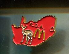 RARE PINS PIN'S .. MC DONALD'S RESTAURANT ANTILOPE CARTE RSA AFRIQUE DU SUD ~16