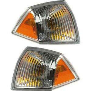 FOR JEEP COMPASS 2007 2008 2009 2010 PARK CORNER PARK LAMP RIGHT & LEFT PAIR SET