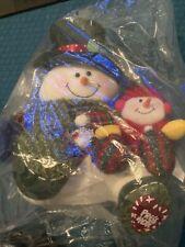Avon Musical Animated Snowman Surprise Pop Up Hat Jingle Bells Christmas 2004