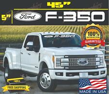 "F 350 Ford Front Windshield Banner Decal sticker Fits Ford F350 Trucks 45""X5"""