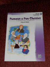 Famous and Fun: 14 Appealing Piano Arrangements Bk 4 by Carol Matz (2005, Paperb