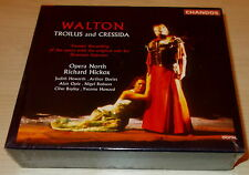WALTON-TROILUS and CRESSIDA-1ST ED. 2xCD 1995-HICKOX-HOWARTH/DAVIES-NEW & SEALED