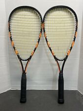 New listing Speedminton Badminton Pair Rackets With Carrying Case