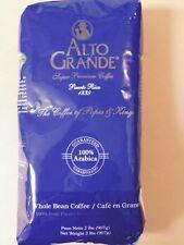 """Alto Grande""  Whole Bean  - 2 lbs. FREE SHIPPING PUERTO RICO PREMIUM COFFEE-"