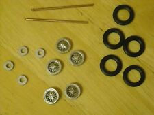 """1/43rd scale etched wire wheels built by K&R Replicas for cars with 16"""" wheel"""