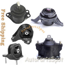 Trans Engine Motor Mounts Set For 13-16 Honda Accord 2.4L AT Transmission G257