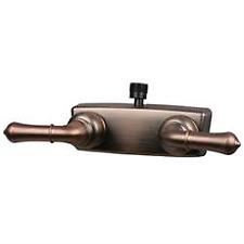 American Motorhome RV 5th Wheel  Bronze Shower Diverter Taps 10-2354