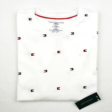Tommy Hilfiger Men's T-Shirt Crew Neck Short Sleeve Tee Logo Tee