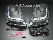 MIT for SUZUKI SWIFT 2014-on LED fog lamp cover DRL daytime running lights