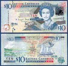 EAST CARIBBEAN STATES 10 Dollars (2012) UNC P. 52