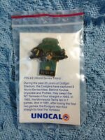 NOS UNOCAL LA DODGERS PIN #2 WORLD SERIES TITLES PIN
