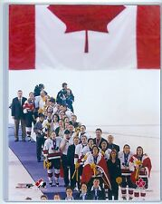 "Women's Team Canada Gold Medal Olympics 8""x10"" Color Photo Hockey"
