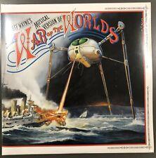 NEW Jeff Wayne – War Of The Worlds Vinyl LP