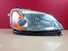 2001-2003 Honda Civic Sedan Right Passenger Side Headlight Lamp OEM
