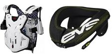 EVS BRUSTPANZER F2 + NECK SUPPORT NECKBRACE NACKENSCHUTZ R3 Motocross Enduro MTB