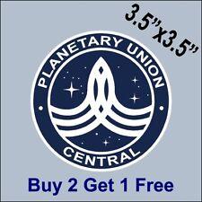 The Orville Planetary Union Central Sticker -  Ed Mercer MacFarlane GoGoStickers