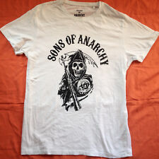 SONS OF ANARCHY WHITE T- SHIRT SZ LARGE