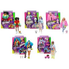 Barbie Extra Dolls With Pets & Accessories Kids Toy Fashion Dolls 3 Years & Up