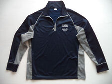 Womens USA Olympic fitness jacket Sz XL sports running track gym athletic team