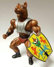 Vintage GALAXY HEROES TIGER MAN shield chest harness KO knock off MOTU