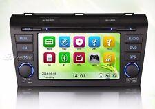 "AUTORADIO 7"" MAZDA3 2004-2009 DTV/AUX/GPS/USB/SD/3G Navigatore Gps"