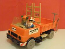 Playmobil Cuadrilla construcción peones camineros ref 3474 año 1981