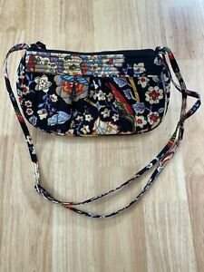 VERA BRADLEY Multi-coloured Floral Print Quilted Small Shoulder Small Bag
