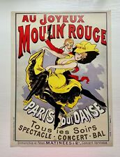 Poster Print from Paris – Au Joyeux Moulin Rouge