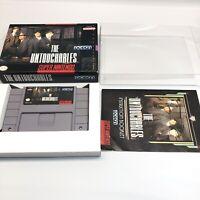 The Untouchables (Super Nintendo SNES, 1991) Complete CIB MINT