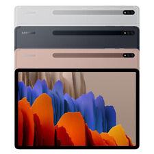 "SAMSUNG Galaxy Tab S7 Plus Tablet 12.4"" S Pen 256GB WiFi + LTE Unlocked SM-T975N"