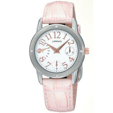 J.SPRINGS LADIES WATCH BLL007 LEATHER STRAP Retrograde Multi calendar