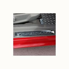 05-13 Mustang Door Sill Set Show Quality Polished Finish Supercharged