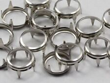 15MM Rim Settings 36 Pieces Silver