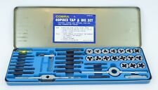 Cobra 40 Piece Tap and Die Set TD40 Coarse Fine Combination Thread Complete