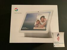 Google Nest Hub Max with Built-in Google Assistant - Chalk White(GA00426-US) NEW
