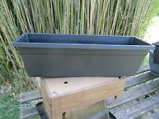 A pair of Window boxes 37cm
